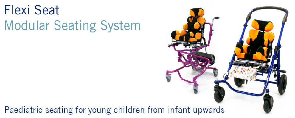 SOS Flexi Seat Modular Paediatric Seating for young children form infant upwards