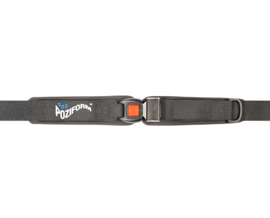 Poziform 2 Part Single Pull Pelvic Harness | Wheelchair seat belts and straps | Pelvic Control | Specialised Orthotic Services | SOS