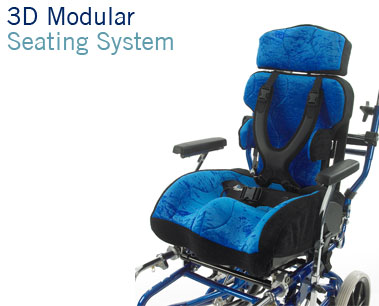 3D Modular Seating System | Custom Modular Wheelchair Seating with 3D moulded cushion | Specialist Seating | Specialised Orthotic Services | SOS