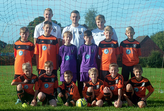 Berkswich under 11 team photo