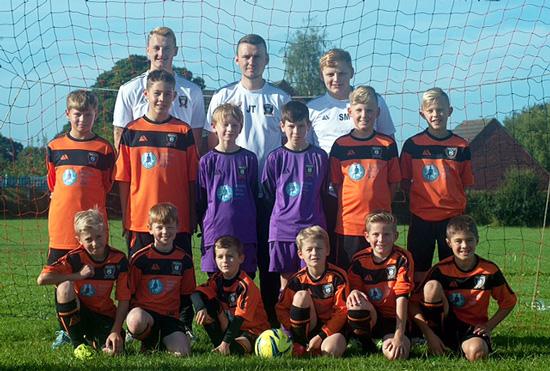 Berkswich under 11 team photo