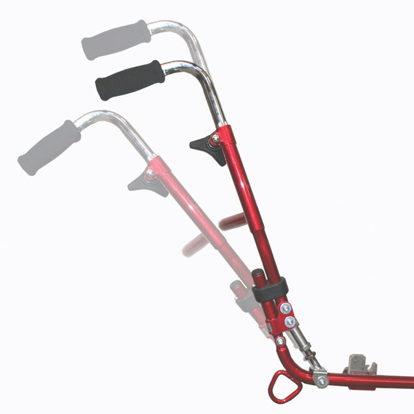 SOS MoJo and Miko wheelbases come with adjustable handles and handle rake. Excluding the stroller