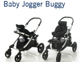 Baby Jogger Buggy | Standard pushchair fitted with our custom seating | Wheelbase | Specialist Wheelchairs | Specialised Orthotic Services | SOS