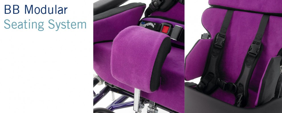 BB Seating System | Custom Modular Wheelchair Seating for babies children and adults with complex postures | Specialist Seating | Specialised Orthotic Services | SOS