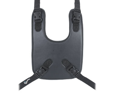 Poziform Bib Harness   Wheelchair harness straps with whipe clean bib   Upper Body Control   Specialised Orthotic Services   SOS