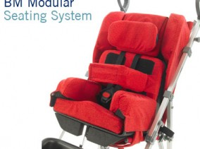BM Modular Seating System with the Mclaren Buggy style pushchair | Specialist Seating | Specialised Orthotic Services | SOS