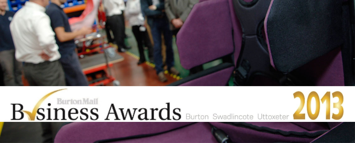 Specialised Orthotic Services are named finalists for the burton-main-business-awards-2013