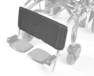 Poziform Calf Panel | Lower Limb Support prevents the legs drifting backwards under the wheelchair seat | Specialised Orthotic Services | SOS