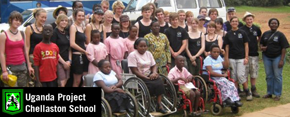 Specialised Orthotic Services help fund the Uganda Project at Chellaston School, Derby.