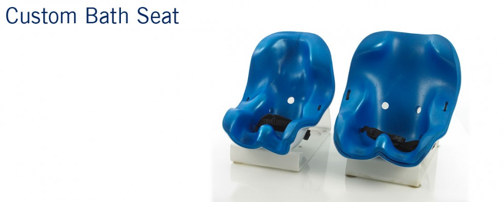 Custom Bath Seat | Special Bath Seating featuring custom moulded seat suitable for babies, children and young adults | Specialised Orthotic Services | SOS