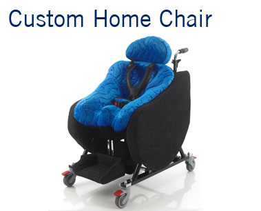 The Custom Home Chair from SOS provides a chair for use in the home that is custom built to suit the individual. Custom Moulded Living room chair.