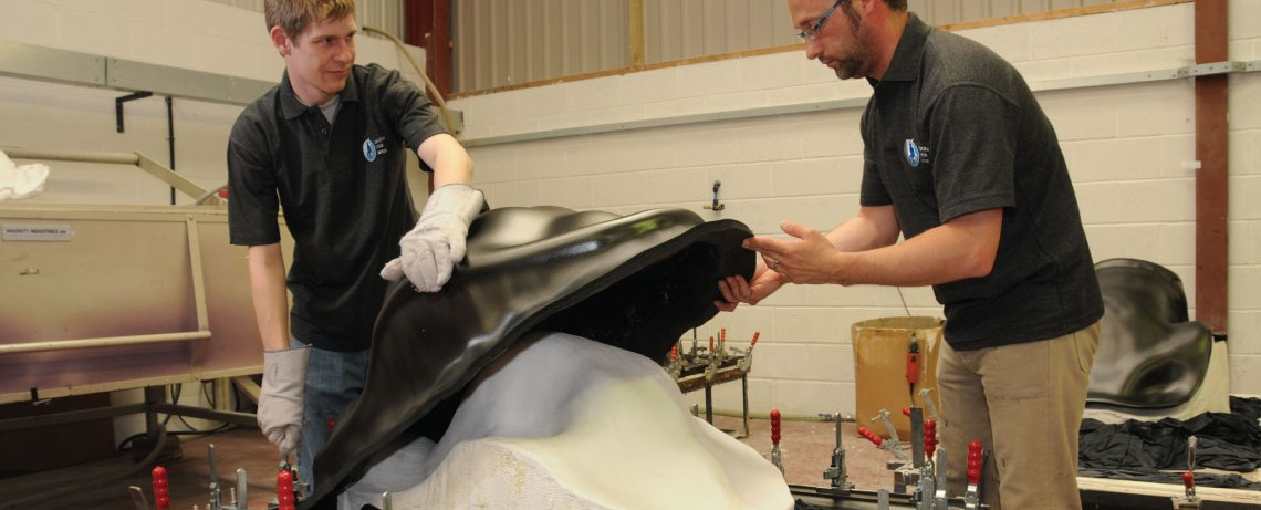 All SOS products are made to order here in Tutbury, Staffordshire, UK.  Vacuum forming