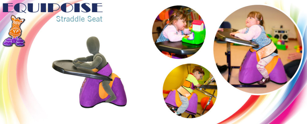 Equipoise Straddle Seat | Indoor posture development Seating for complex postures. Suitable for young children | Specialised Orthotic Services | SOS