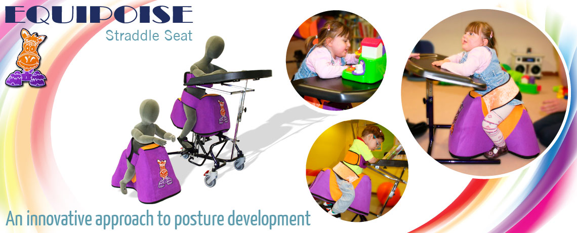 equipoise straddle seat by SOS innovative special seating for therapy