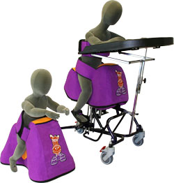 equipoise straddle seat freestanding and wheelbase option now available from SOS