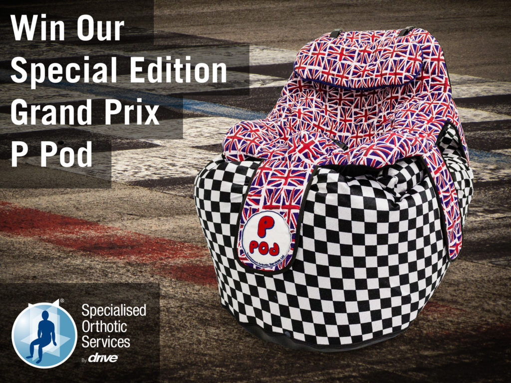 F1 special edition P Pod