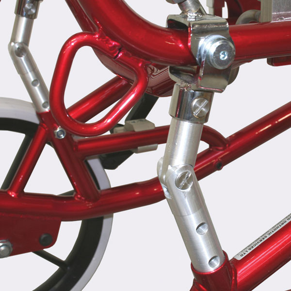 Fixed Frame MoJo wheelbase with progressive settings. Can be upgraded to tilt in space easily