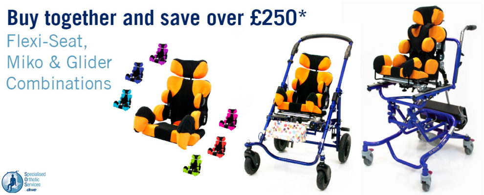 Save over £250 on our flexi-seat, miko & glider special seating combinations