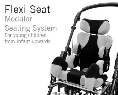 Flexi Seat Modular Seating System | Custom Modular Wheelchair Seating with Adjustable Trunk Support | Specialist Seating | Specialised Orthotic Services | SOS