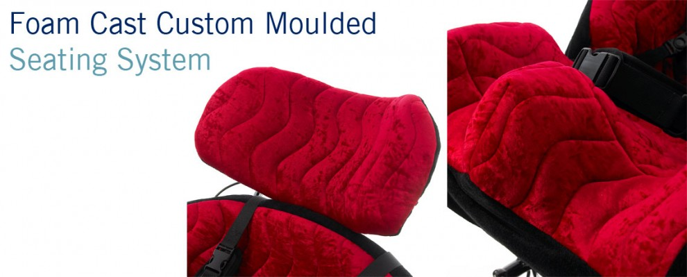 Foam Cast Custom Moulded Wheelchair Seating for complex postures   Specialist Seating   Specialised Orthotic Services   SOS