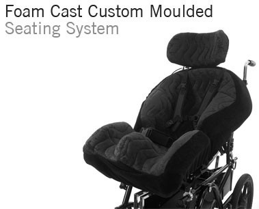 Foam Cast Custom Moulded Wheelchair Seating for complex postures | Specialist Seating | Specialised Orthotic Services | SOS