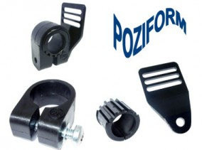 Poziform Frame Mounting Clamps for secure harness attachement | Specialised Orthotic Services | SOS