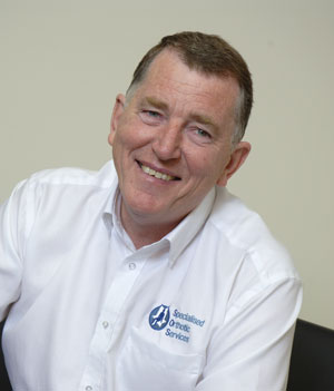 Gordon Mcquilton MBE Founder and Managing Director at Specialised Orthotic Services