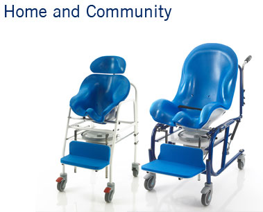 Home and Community | Indoor Wheelchairs | Special Toilet Seating | Toilet Chairs | Specialised Orthotic Services | SOS