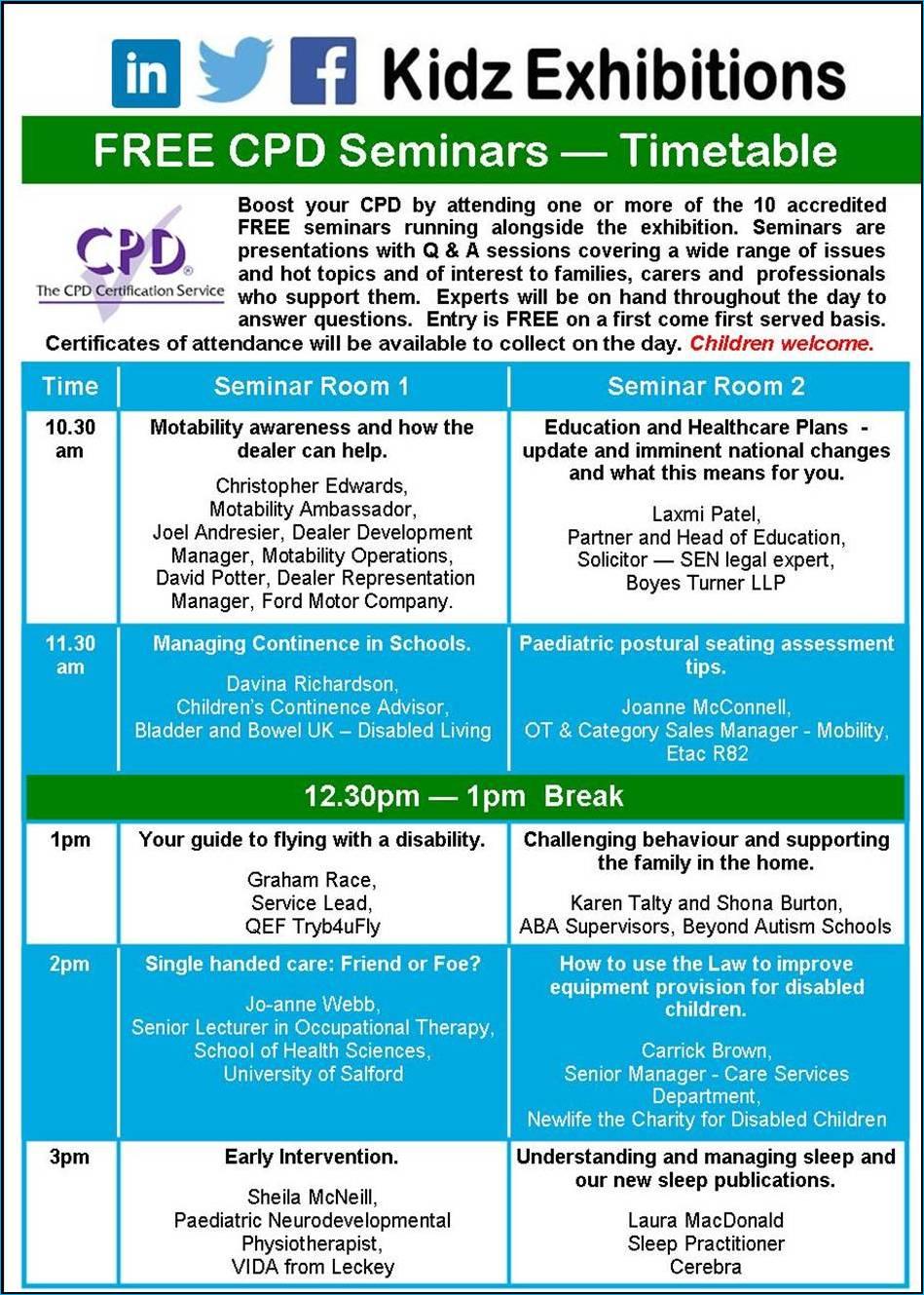 kidz-south-2018-CPD-Seminar-schedule