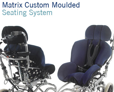 Matrix Seating System | custom moulded adjustable wheelchair seating | Specialist Seating | Specialised Orthotic Services | SOS