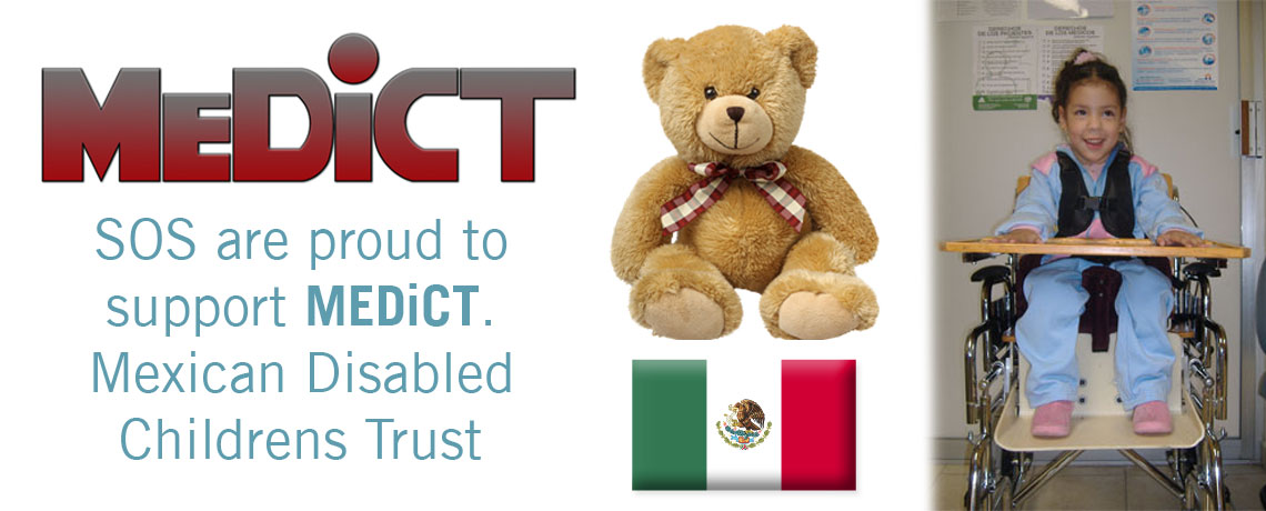 Specialised Orthotic Services charilty work.  We Support MEDiCT-Mexican Disabled Children
