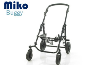 The Miko Buggy, Custom moulded special seating pushchair for busy families with children aged 12 months and up
