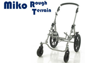 Miko Rough Terrain Wheelbase, special wheelchair with large wheels for outdoor use | Specialist Wheelchairs | Specialised Orthotic Services | SOS