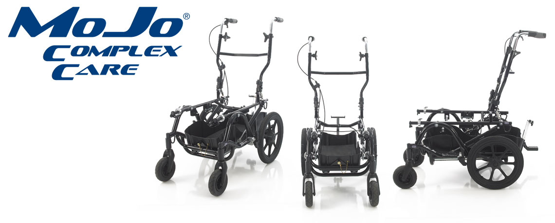 mojo cc complex care wheelbase with storage for specialist equipment