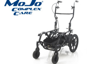 MoJo CC Complex Care wheelbase with storage for oxygen and ventilators