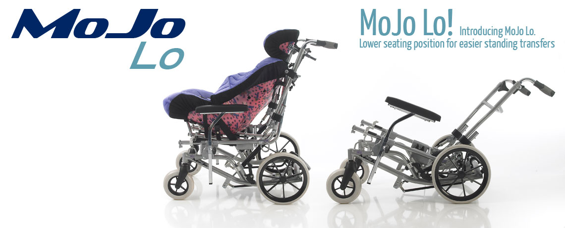 mojo-lo new lower wheelbase for special seating by Specialised Orthotic Services
