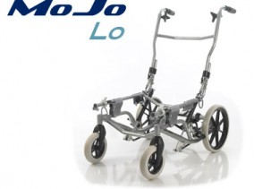 MoJo Lo Wheelbase designed for easier standing transfers and a lower seating position