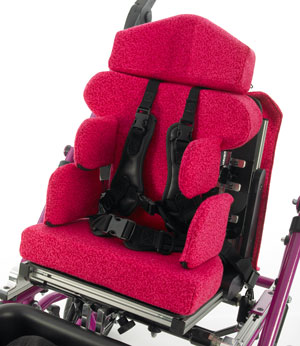The new Flexi Seat from Specialised Orthotic Services modular seating