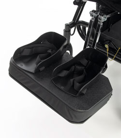 Moulded Footbox with sandals and straps for support Specialised Orthotic Services SOS