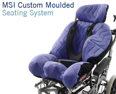 MSI Moulded Seat Insert | Custom Moulded Wheelchair Seating | Specialist Seating | Specialised Orthotic Services | SOS