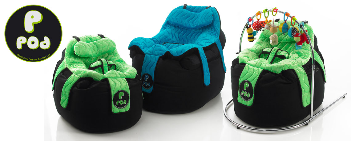 SOS to launch the new PPod moulded Beanbag seat at Kidz in the Middle 2009