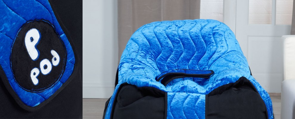 P-Pod   Custom Moulded Bean Bag Seating for children and adults   Indoor Comfy Chair   Specialist Wheelchairs   Specialised Orthotic Services   SOS