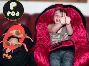 P-Pod | Custom Moulded Bean Bag Seating for children and adults | Indoor Comfy Chair | Specialist Wheelchairs | Specialised Orthotic Services | SOS