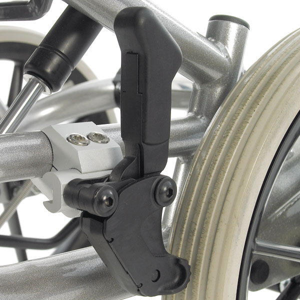Rear Wheel wheelchair Brakes adjustable for even tyre wear