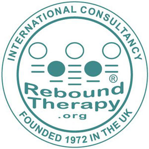 Rebound Therapy, Trampoline Therapy, for physical and multiple learning disabilities Logo