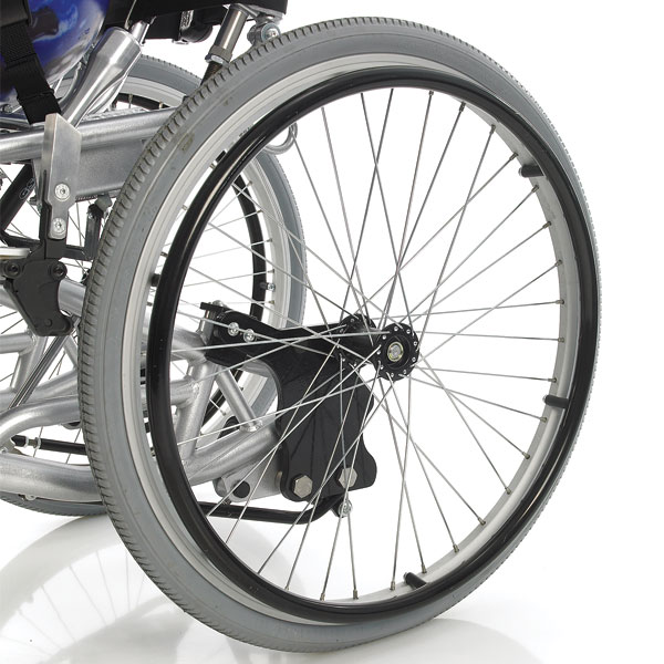 22 inch Self-Propelling Wheels suitable for all MoJo wheelbases excluding the stroller. With or without drum brakes