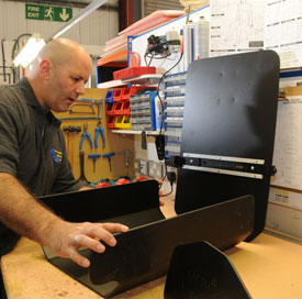 Wheelchair seating manufacture by our expert staff