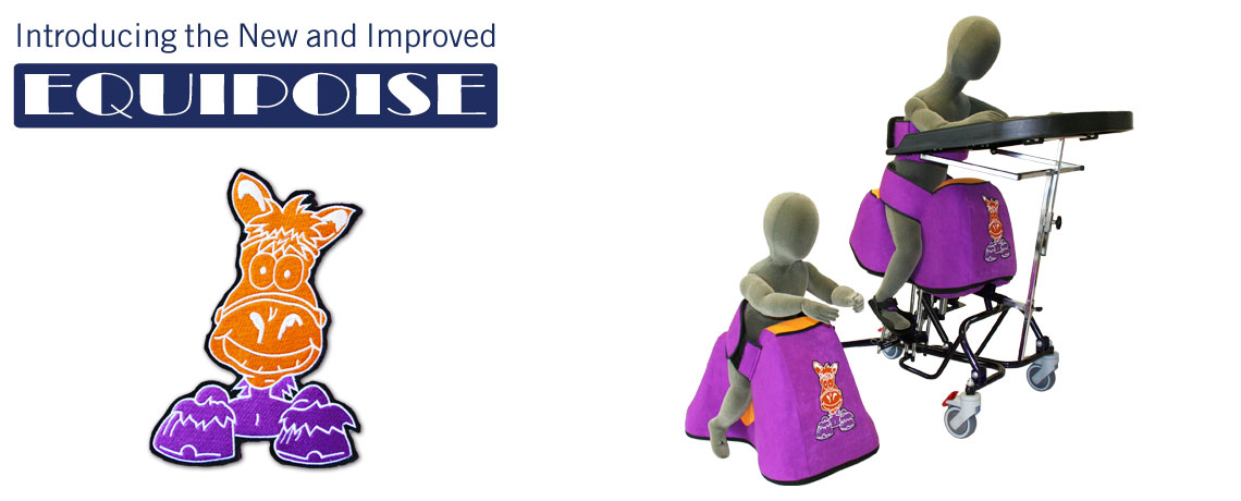 The New Equipoise Straddle Seat from SOS is now available | Special seating and mobility