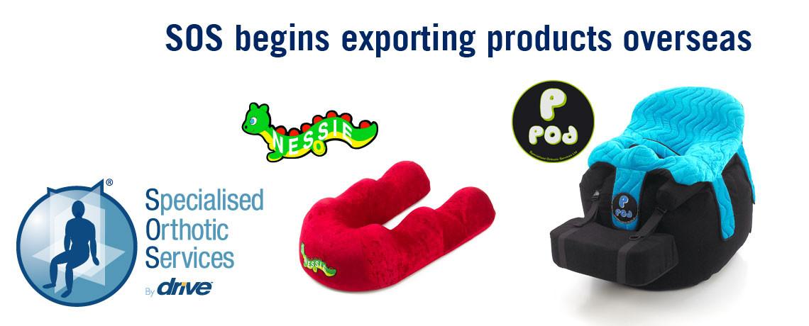 SOS begins exporting products overseas