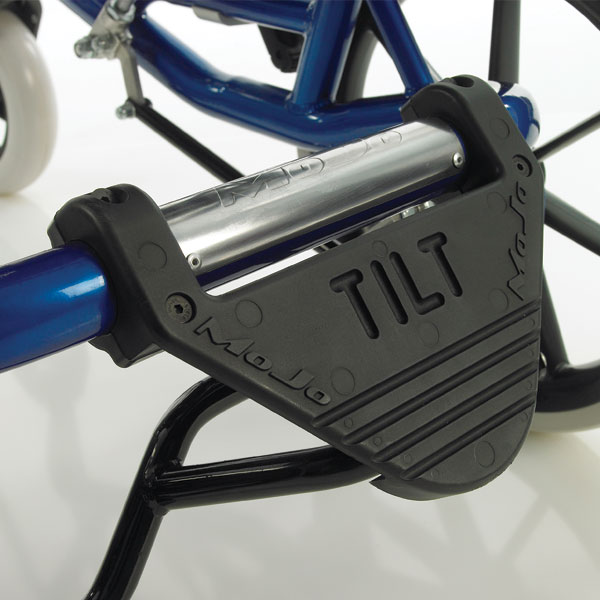 MoJo Tilt and Recline mechanical, foot operated tilt in space mechanism. For all MoJo wheelbases